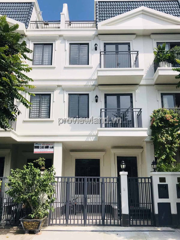 House for rent in Lakeview City District 2 5x20m 3pn basic furniture