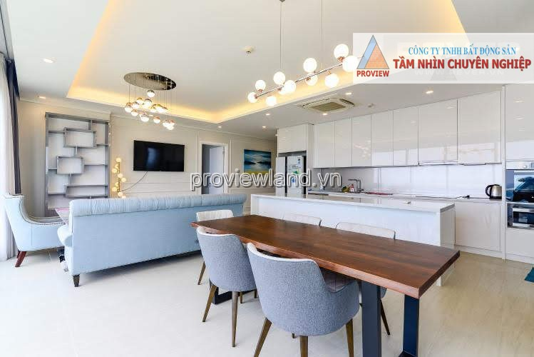 Diamond Island apartment for rent 3 bedrooms furnished with balcony