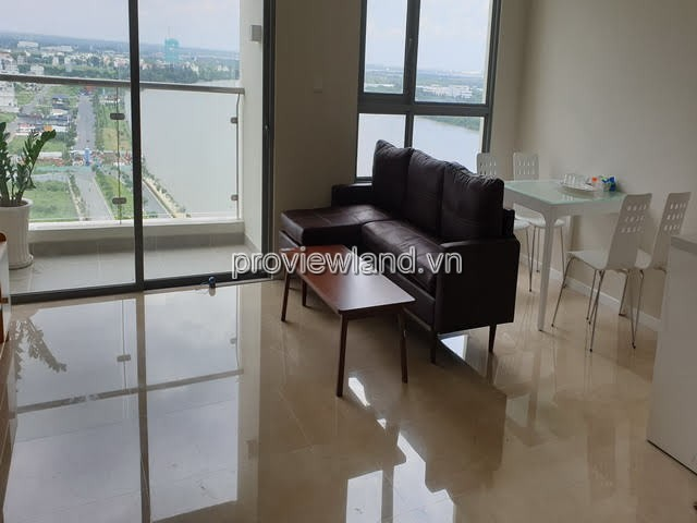 Diamond Island apartment for rent with 2 bedrooms, river view, full furnished