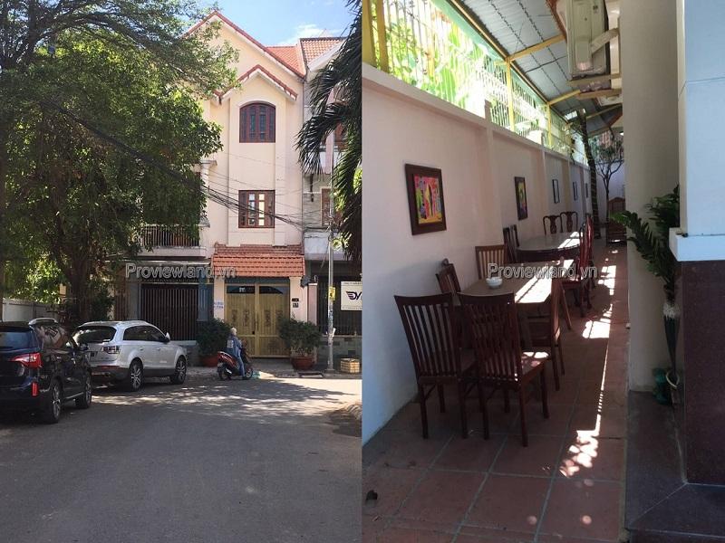 Villa Trần Não 10x20m 3 tầng nội thất đầy đủ cho thuê