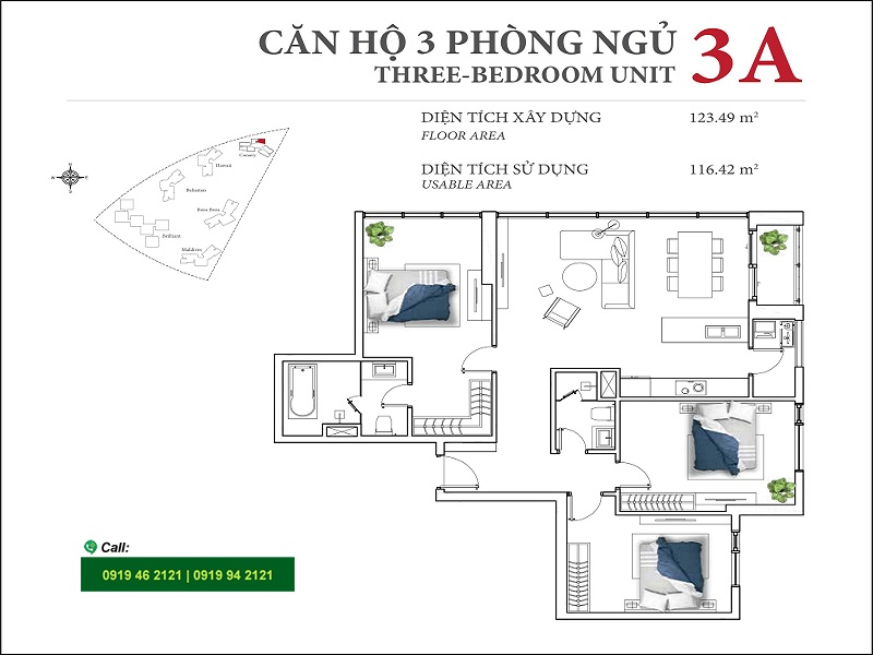 Diamond-Island-DKC-Canary-layout-3A-3PN