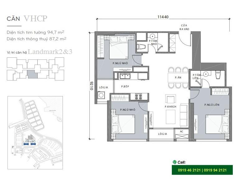 Vinhomes-Central-landmark2-3-layout-mat-bang-can-ho-3PN-95m2