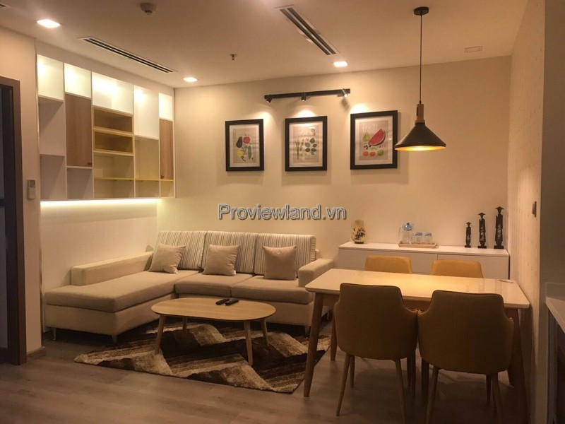 For sale serviced apartment 1 bedroom in Vinhomes Central Park with river view