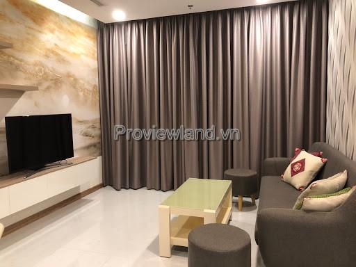 Cần cho thuê căn hộ Vinhomes Central Park tầng cao 2 phòng ngủ full nội thất