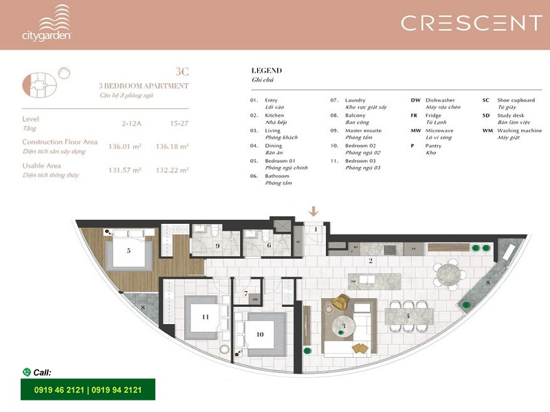 City-Garden-layout-Mat-bang-Crescent-3pn-136m2-3C