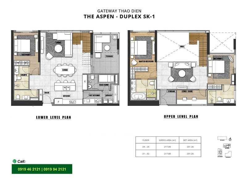 Gateway-Thao-Dien-Aspen-layout-mat-bang-can-ho-duplex-3pn-220m2