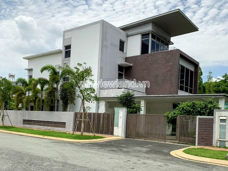 Villa for sale at Villa Riviera Cove District 9 includes 1 ground 2 floors with 4 bedrooms