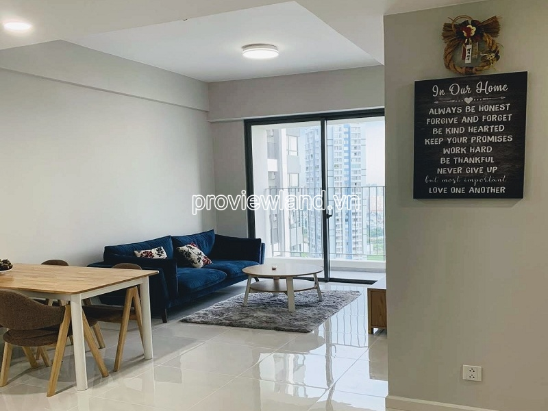 Luxury apartment including 2 bedrooms for sale in Masteri An Phu block A high floor