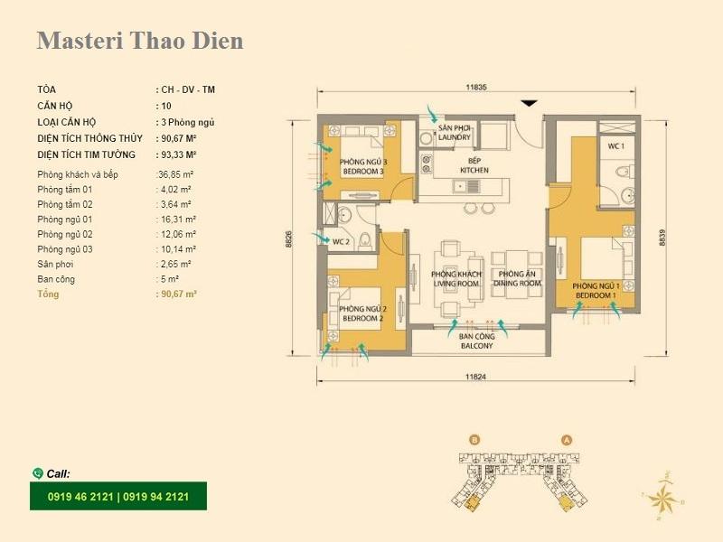 Masteri-Thao-Dien-Mat-bang-layout-T5-10-3pn-93m2