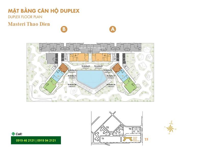Masteri-Thao-Dien-Mat-bang-layout-T5-duplex