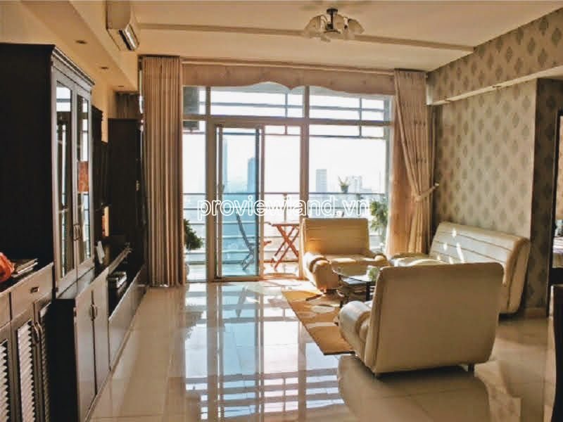 Apartment for rent in Sailing Tower District 1 includes 2 bedrooms with nice view high floor