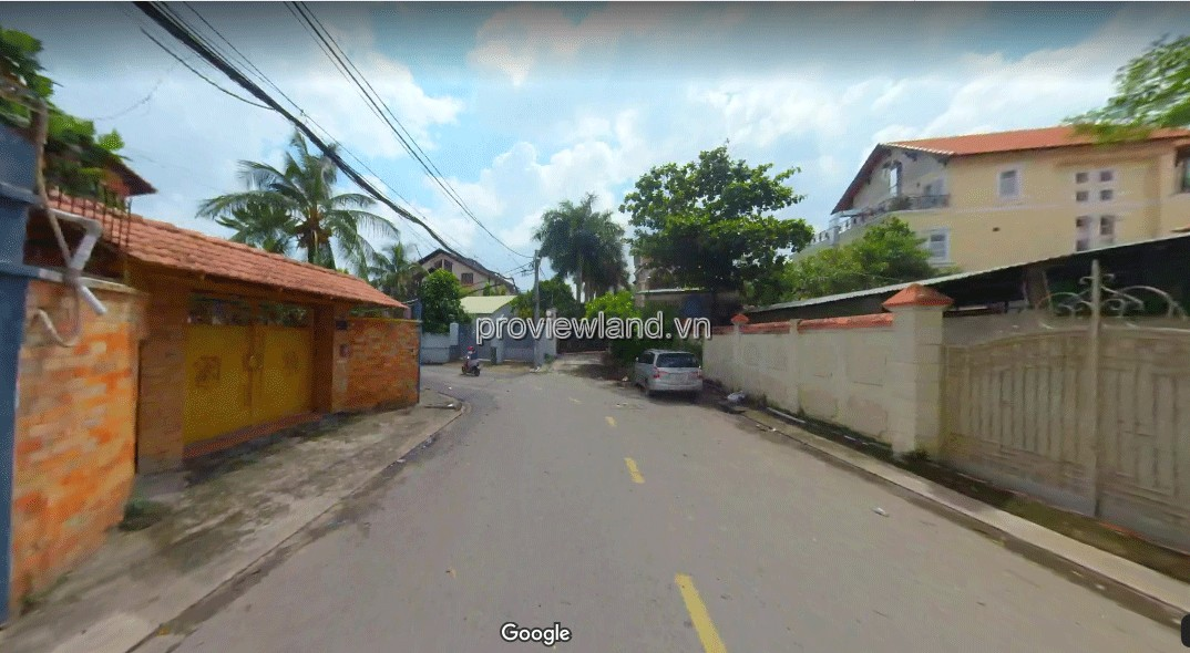 Land for sale on street 65 Thao Dien District 2 212m2 building 1 basement and 1 ground 5 floors