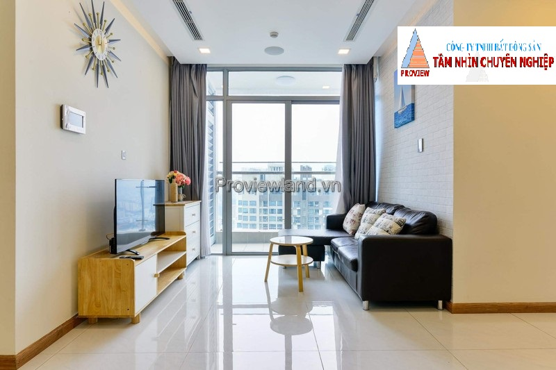 Vinhomes Central Park 2 bedrooms high floor nice view for rent
