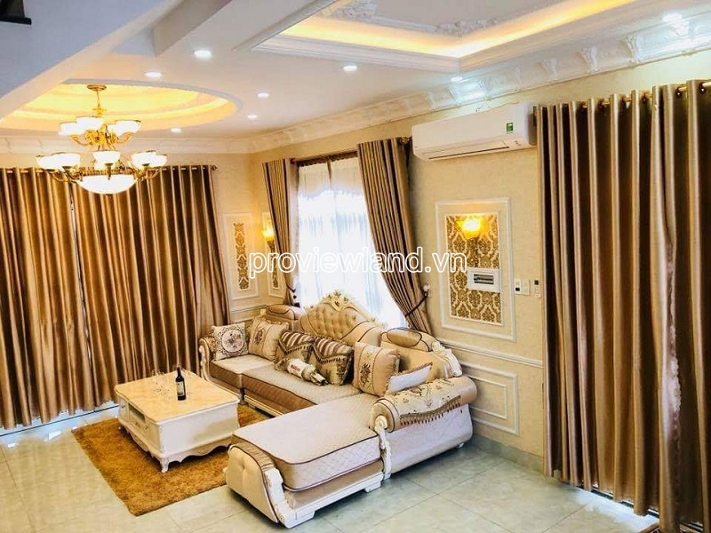 Villa District 2 at Cat Lai street 68 for sale includes 3 floors 4 bedrooms beautiful furniture