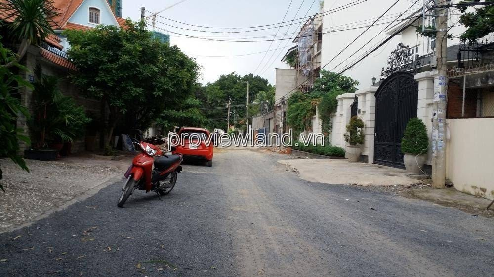 Land for sale Thao Dien street No. 11, area of 180m2, beautiful location