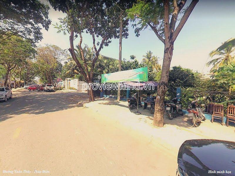 Bán lô đất mặt tiền đường Xuân Thủy Thảo Điền Quận 2 550m2 vị trí rất đẹp
