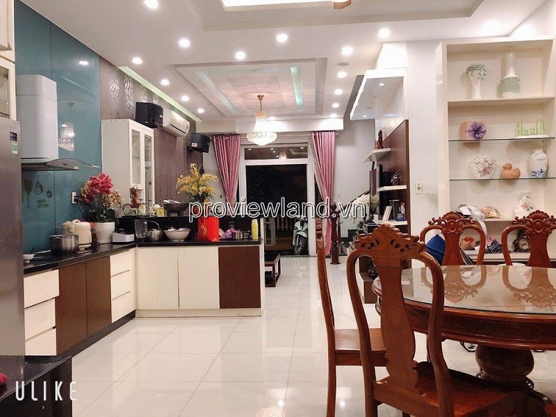 Townhouse Mega Ruby Khang Dien District 9 for sale with garden 1 ground 2 floors