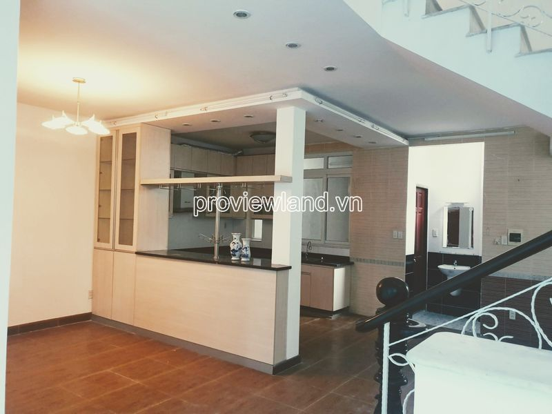 Thao Dien villa need for rent on Quoc Huong street with 3 floors and 4 bedrooms