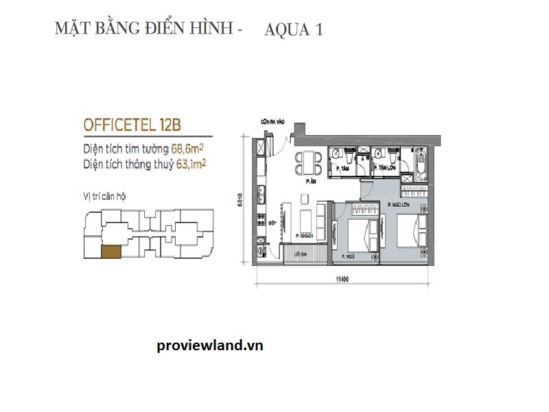 ban-can-ho-2-phong ngu-vinhomes-golden-river-mat-bang-aqua-1-proviewland