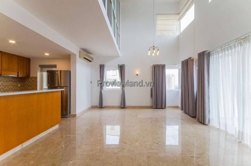 Duplex 2 floor for sale at River Garden included 4 bedrooms high floor
