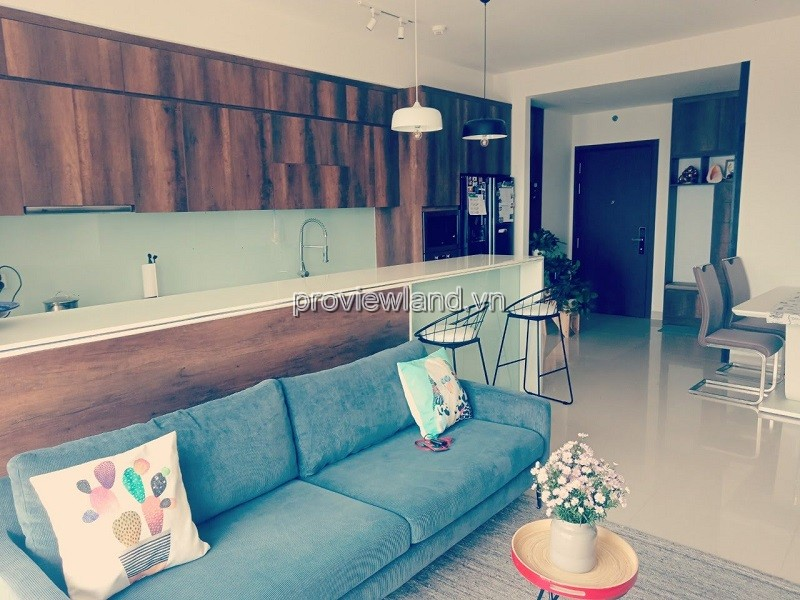 Apartment 3 bedroom  nice furniture high floor at Tower 3 The Sun Avenue for sale
