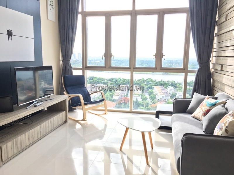 Apartment for sale The Vista  in District 2 includes 2 bedrooms T3 tower river view