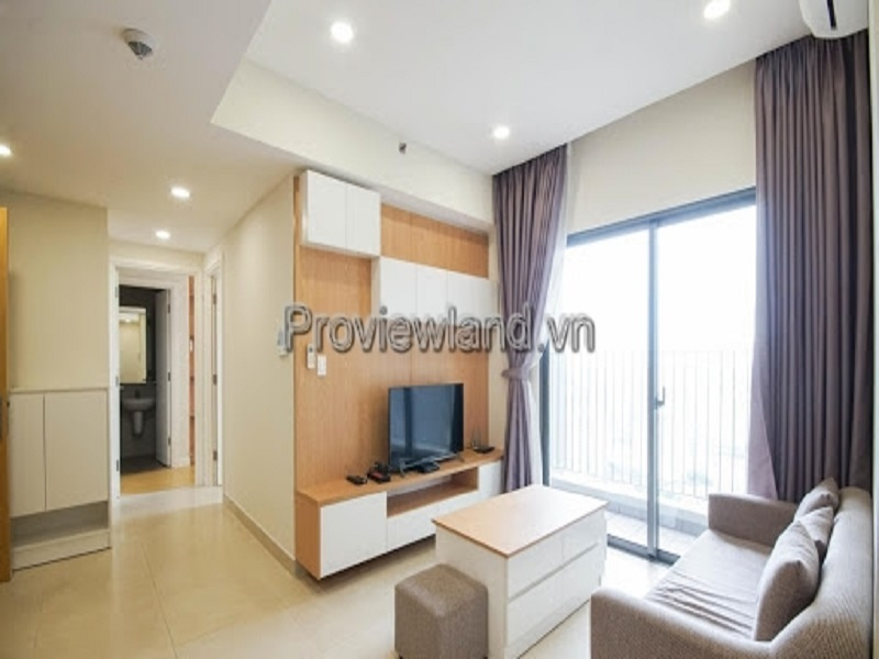 Masteri Thao Dien apartment for rent in District 2 includes 2 bedrooms at T1 tower