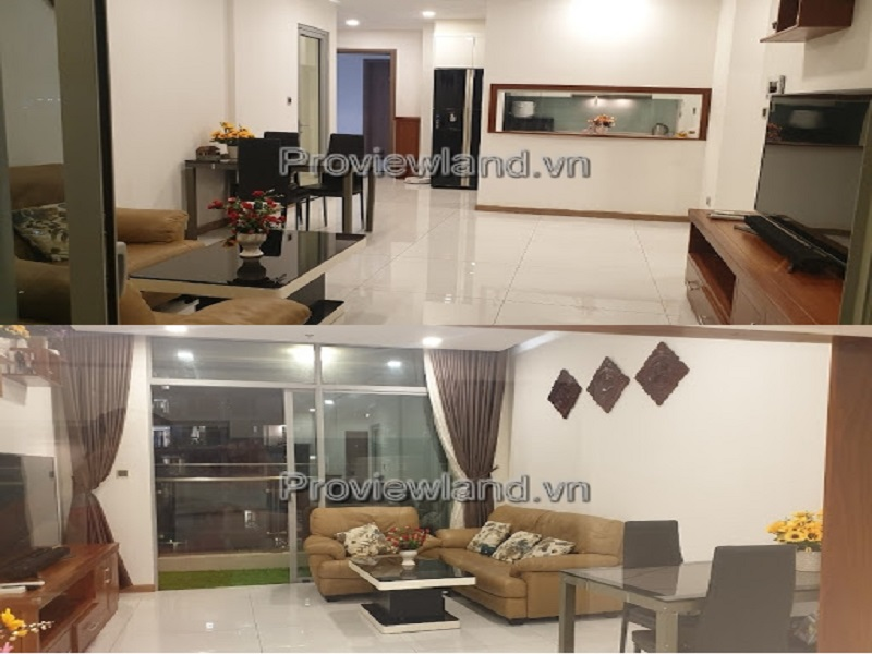Apartment Vinhomes Central Park for rentwith 3 bedrooms fully furnished in P5 Tower
