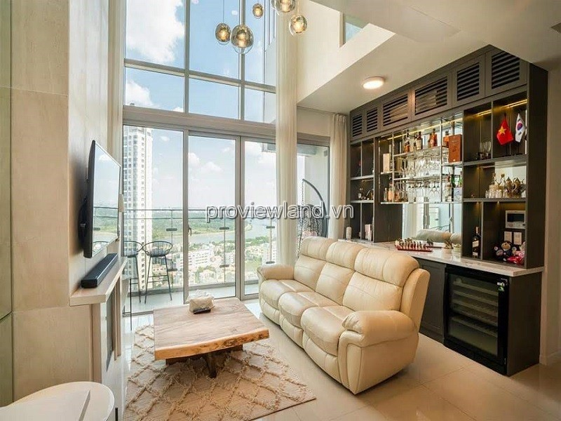 Duplex Estella Heights apartment T3 tower high floor new furniture 3 bedrooms for rent