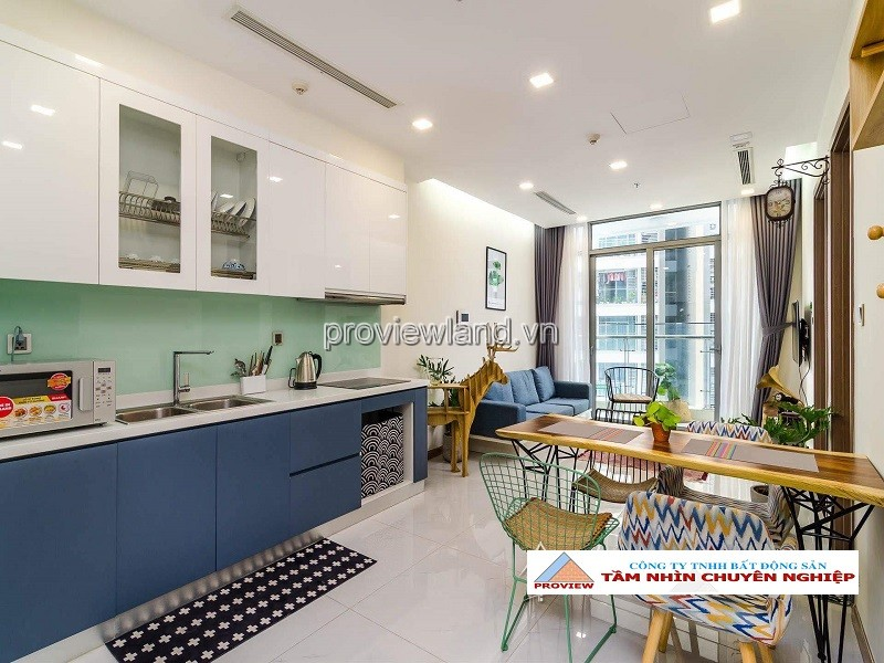 Vinhomes Central park apartment for rent high floor Park 7 tower 1 bedroom with preferential price