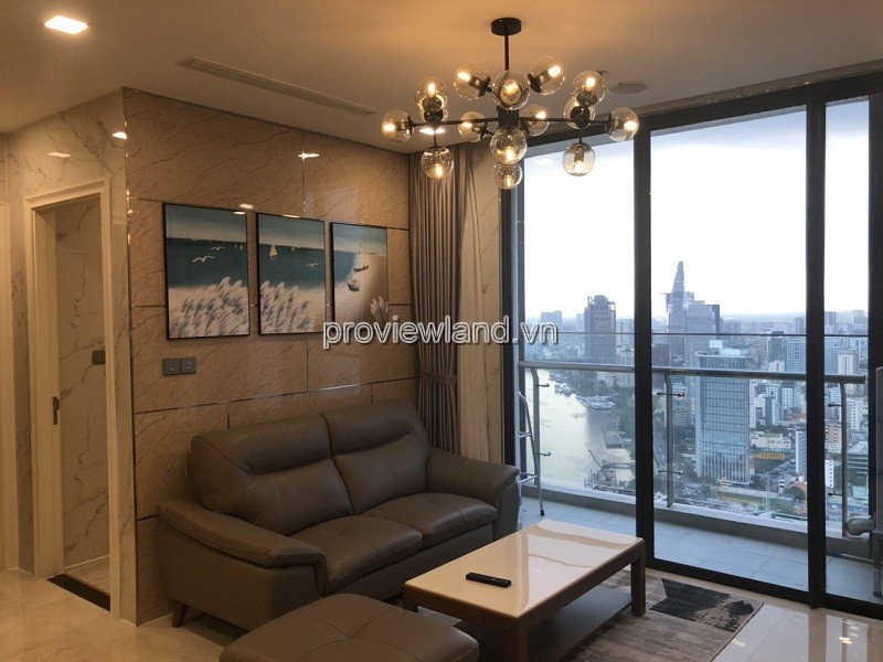 Vinhomes Golden River apartment for sale high floor cool 2 bedrooms modern furniture river view