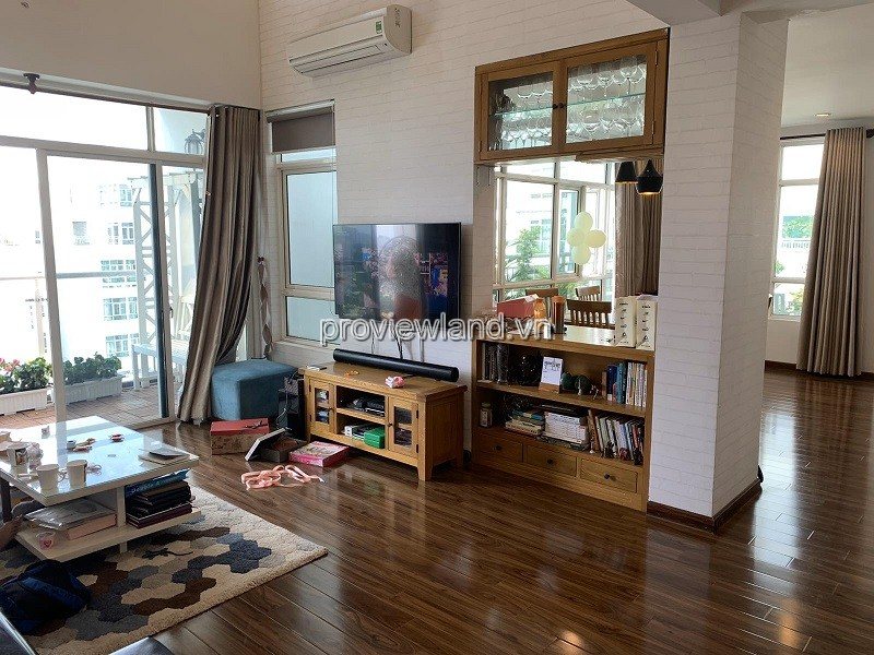 Hoang Anh River Penthouse Apartment C block for sale 4 bedroom luxury furniture good price