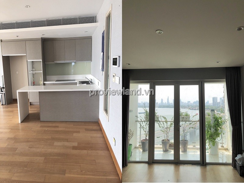 Diamond Island apartment 2 bedrooms with nice view furniture for rent