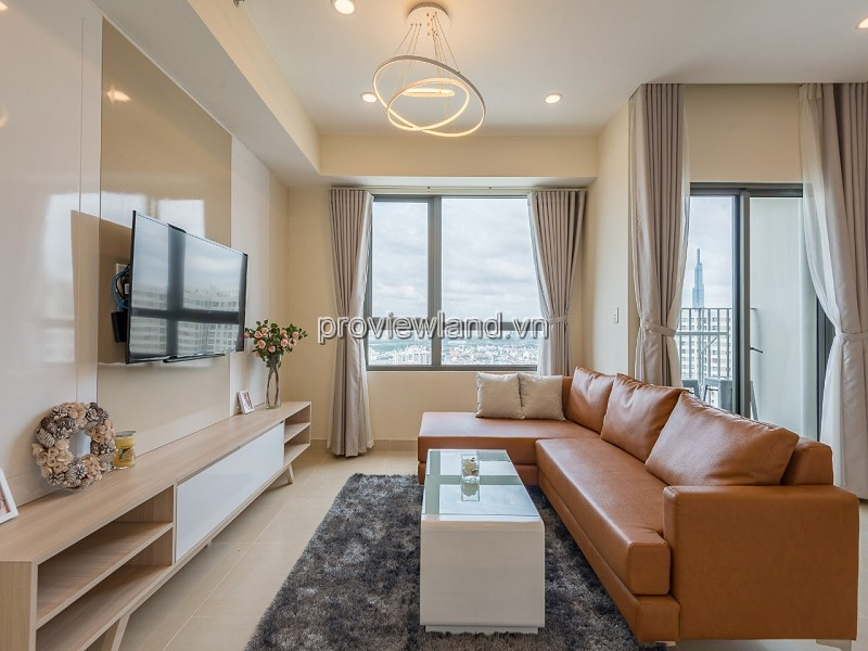 Masteri Thao Dien apartment comfortable 2 bedroom in T3 tower nice view for rent