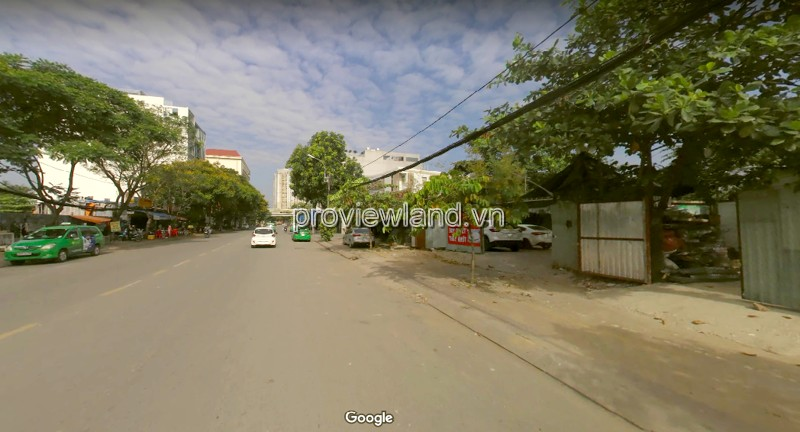 Land for sale front of the Nguyen Van Huong street 800sqm is 100m from the Saigon River