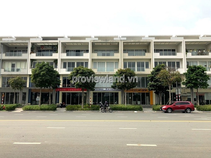 Shophouse Nguyen Co Thach District 2 for sale with area 7.1x24m 4 floors