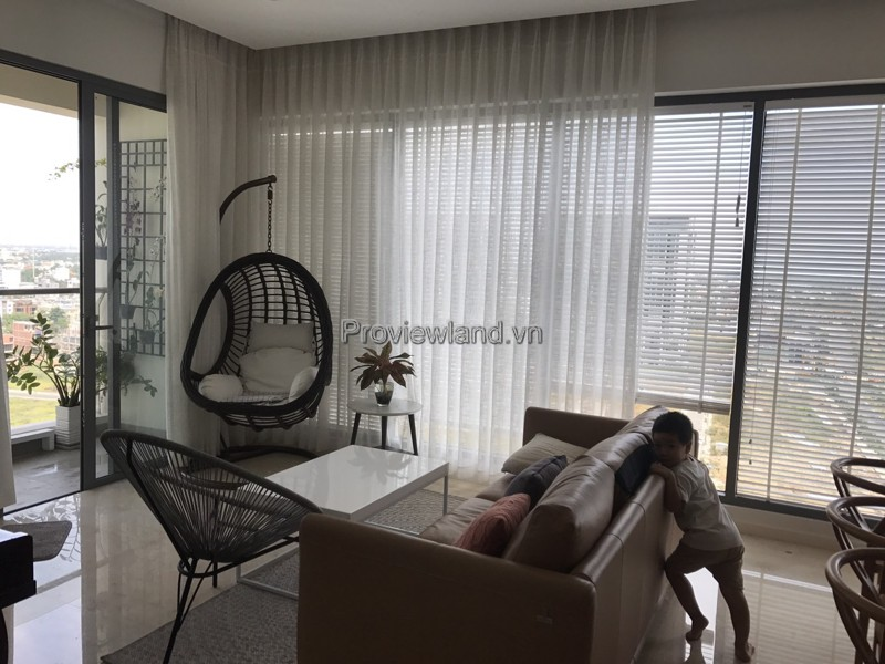 Apartments in tower Madives Diamond Island for rent with 3 bedrooms and river view