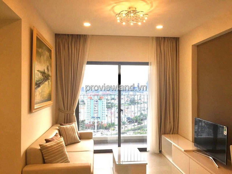Masteri Thao Dien apartment with 2 bedrooms nice view Landmark 81 building for rent