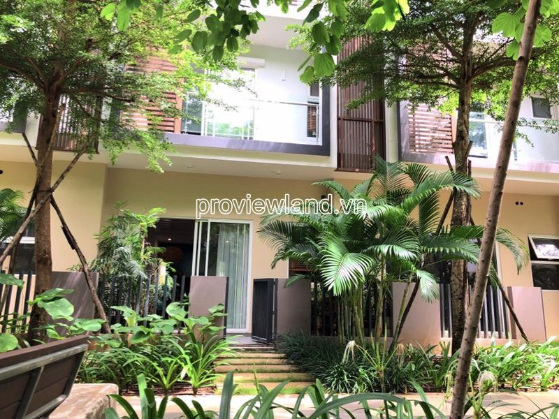 For sale ​​2 Townhous Palm Residence adjacent 3 floors with each house has area 6x17m