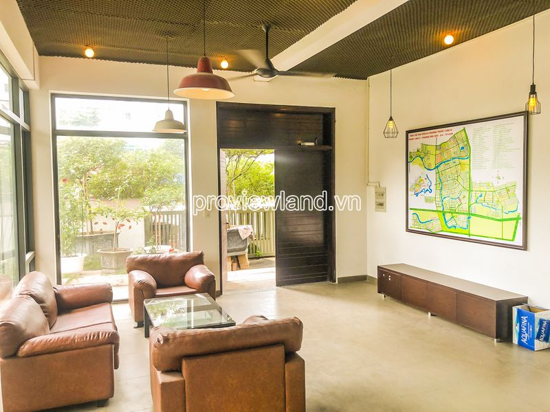 Villa Lucasta Khang Dien District 9 for rent architecture 3 floors with land area 312m2