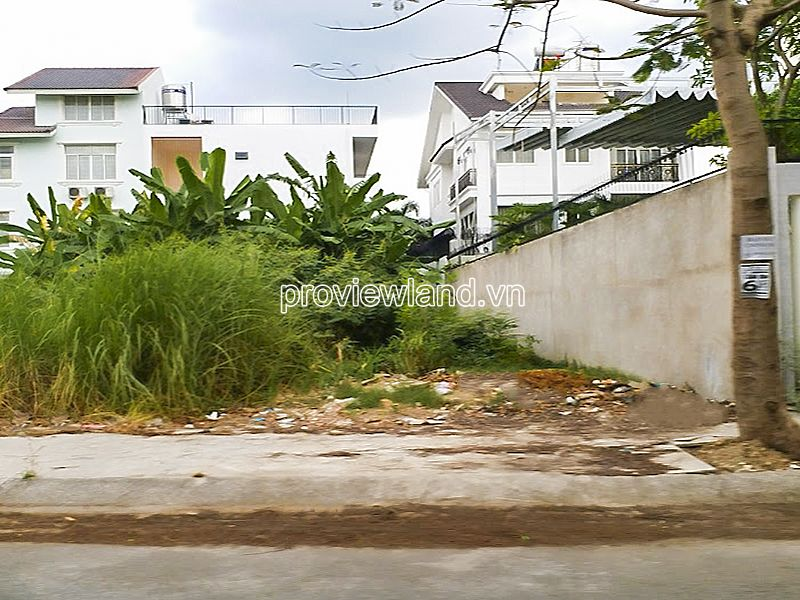 The land for sale at Compound Kim Son Thao Dien Villa area 800m2 residential land