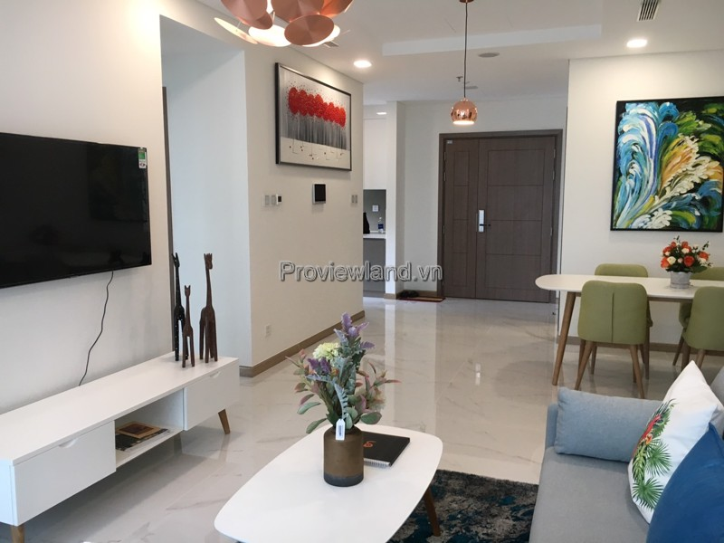 Landmark81 apartment for rent 3 bedrooms high floor nice furniture