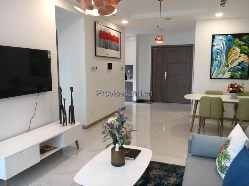 Landmark81 cho thuê căn hộ 3 phòng ngủ  tầng cao nội thất đẹp