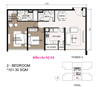 can ho the vista 10m2m2