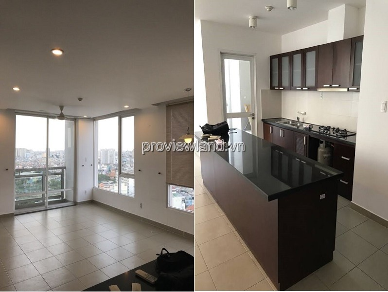 Horizon apartment in district 1 middle floor with 2 bedrooms interior wall for rent