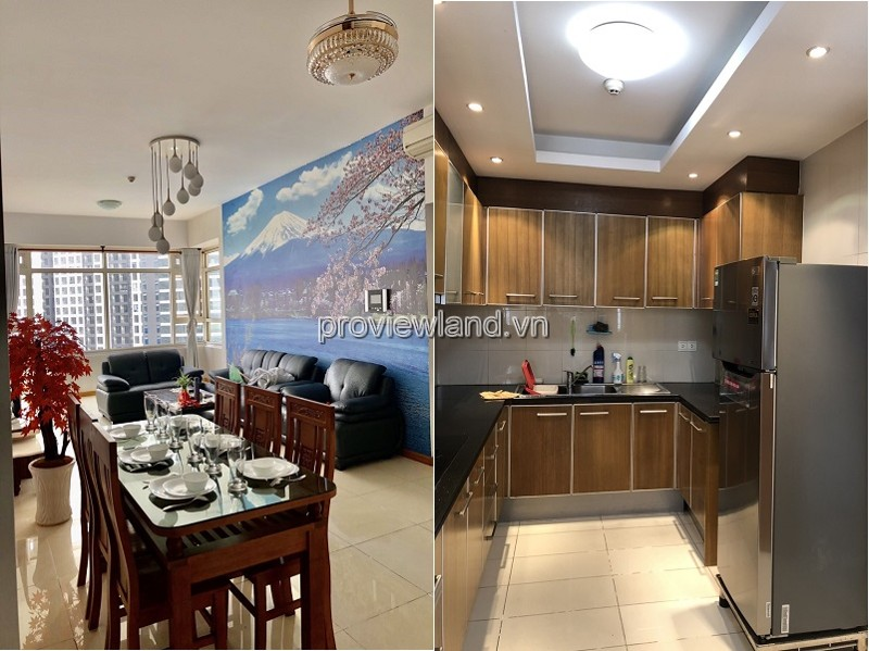 For sale apartment 3-bedroom Sapphire1 Saigon Pearl fully furnished with city view