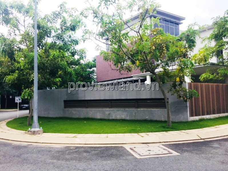 Villa for sale in Riviera Cove district 9 corner 3 of the front, bare house, area 388sqm