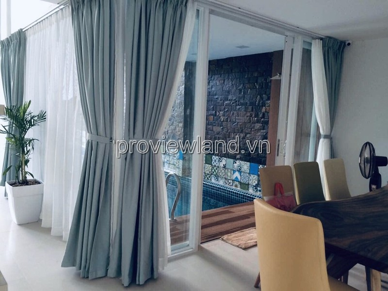 Sale of land for villas in Thao Dien district 2, 202m2 of land, 3 floors, 4 bedrooms