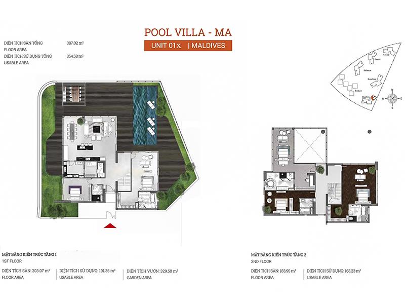 Diamond-Island-DKC-Maldives-layout-Pool-Villa-717m2
