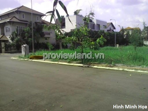 Land for sale in District 2 Thao Dien, 150m from Vincom MAge Maill, area 2500m2, built has 12 floors